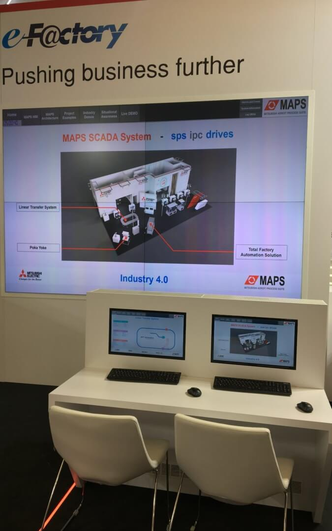 MAPS Video Wall System